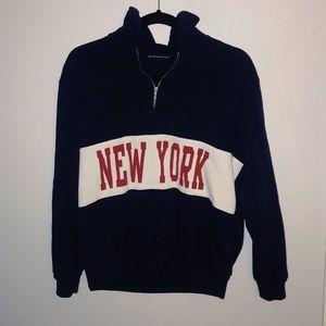 New York Brandy Melville pullover.